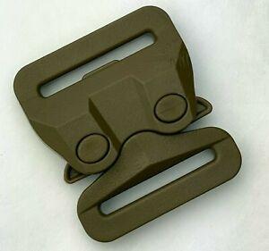 "AustriAlpin ITW GT COBRA Buckle 1.5"" Plastic Quick Release Tactical Coyote Brown"
