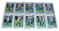 Score 2018 MIAMI DOLPHINS Football Trading Cards NFL Team Set