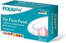 Kit per il fissaggio di ponti, Capsule dentali e denti a perno, Pronto all'uso