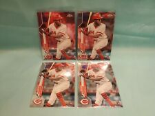 2020 Topps Chrome Aristides Aquino RC (4 Card Lot)