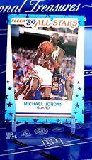 Michael Jordan 1989-90 Fleer 89 All Stars Card Sticker #3