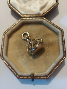 Antique Georgian Victorian Rolled Gold Fob Pendant