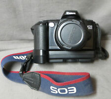 52- APPAREIL PHOTO ARGENTIQUE: CANON  EOS 500 ZOOM EF 35/80  : MADE IN  JAPAN
