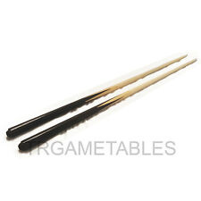 "2 x 36"" / 48"" Short Wooden Pool Billiards Snooker Cue for Kids Small Room AU"