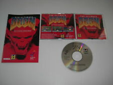 THE ULTIMATE DOOM 1 THY FLESH CONSUMED CD & Manual Pc Cd Rom FAST POST