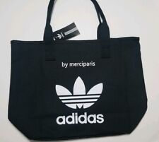 Black Adidas Tote/ Shoppers Bag-Trendy Casual  Relaxed Shoulder Bag- Womens- NWT
