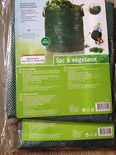 Lot De 2 Sacs à déchets pour le jardin 270 Litres