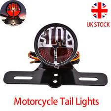 Classic Motorcycle Tail Light Brake Stop Rear Lamp For Harley Bobber Cafe Racer