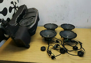 Audi A6 C5 Allroad [99-05] BOSE GENUINE Radio Amplifier And Speakers Wirring Set