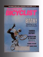 American Bicyclist Mag. Aug. '94 Features Bmx Comeback, Revolution at Raleigh