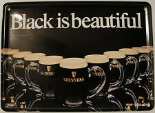 Guinness Collectible Mini Tin Sign Guinness Black Is Beautiful
