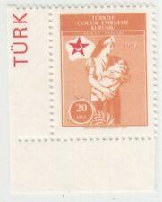 TURKEY 1983  ISSUE 20 LIRA UNUSED STAMP  ISFILA CY 56 RRR