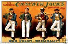 Cracker Jacks Minstrels Vaudeville Theater Poster / Fine Art Print