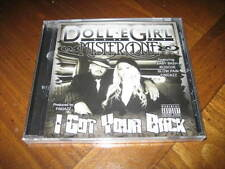 Chicano Rap CD Doll-E Girl & Mister One - I Got Your Back - Slow Pain Baby Bash