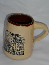 VINTAGE HOLT-HOWARD INDIAN MUG! 'BEST VIRGINIA'! OVEN PROOF! MADE IN USA!