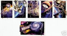 AUSTRALIA 2007 SPACE SET OF 6 WITH STRIP FINE USED.