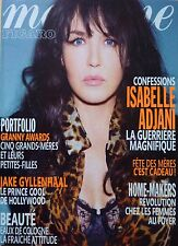 MADAME FIGARO 2010: ISABELLE ADJANI_MATTHIEU CHEDID_JAKE GYLLENHAAL_LEA DRUCKER