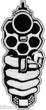 "Gun Embroidered Patch 9CM X 3.5CM (3 1/2"" X 1-1/2"")"