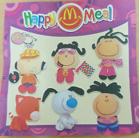 McDonalds Happy Meal Toy 2002 Bubblegum Bubble Gum Plush Soft Toys - Various