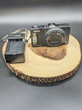 Nikon COOLPIX S9300 16.0MP 18x Zoom Wide Full HD Digital Camera - GPS - Black