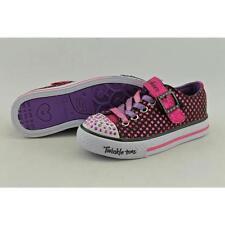 Scarpe sneakers nera medi per bambine dai 2 ai 16 anni
