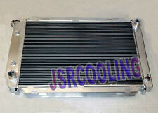 2 ROW Performance Aluminum Radiator fit for Ford Mustang 1980-1993 AT MT New