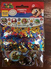 Super Mario Party Supplies decorations Confetti mix 1.2oz.