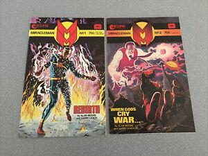 Miracleman 1 2 3 4 5 6 7 Alan Moore Eclipse Comics