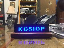 DESKTOP CALL SIGN Backlighted LED Ornamental Deco Bar