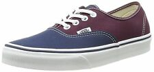 VANS SHOES AUTHENTIC VINTAGE 2 TONE DRESS BLUES FIG MENS SZ 7.5 WOMENS 9 PURPLE
