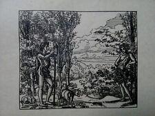 Jacques Beltrand(1874-1977) Gravure au Burin