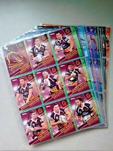 2018 NRL TRADERS COMPLETE 160 COMMON TRADING CARDS WITH FOLDER/SLEEVES/CHECKLIST