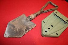 MILITARY SURPLUS ENTRENCHING TOOL SHOVEL TRI FOLD E-TOOL SURVIVAL GEAR EDC