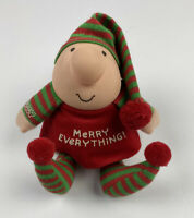 VTG Ziggy Christmas Plush Elf Shelf Sitter Merry Everything 1988