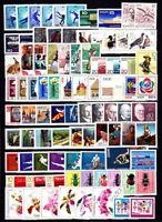 DDR Jahrgang 1968 , postfrisch , Auswahl aus Michel Nr. 1335 - 1433
