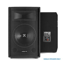 Vonyx 10 Inch 250W 2 Way Bass Reflex Passive Bedroom DJ PA System Party Speaker