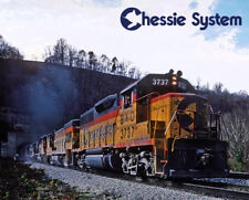 Chessie System B&O Fort Springs Tunnel Train Sturdy Metal Sign