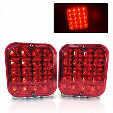 "2X 4.5"" LED TRAILER TAIL LIGHT KIT BRAKE TURN SIGNAL UTILITY RV BOAT TRUCK 12V"