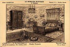 CPA  Le Mobilier Rustique -Chambre Normande   (298079)