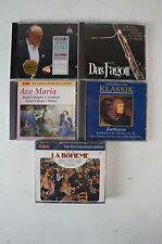 Musik CD's Konvolut Brahms Reger Das Faggot Ave Maria Beethoven la Boheme (918)