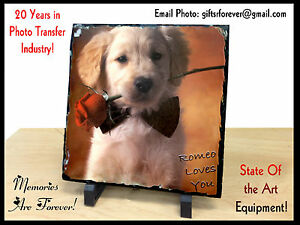 Personalized Photo Rock Slate Great Gift for any Special Occasion