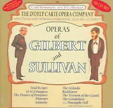 NEW The Operas Of Gilbert And Sullivan -  D'Oyle Carte Opera Company (Audio CD)