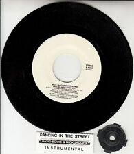 "MICK JAGGER & DAVID BOWIE  Dancing In The Street 7"" 45 rpm vinyl record NEW"