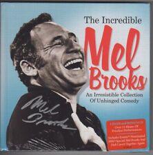Incredible Mel Brooks Signed 5 DVD CD Book Set Autographed Publisher-Sealed COA