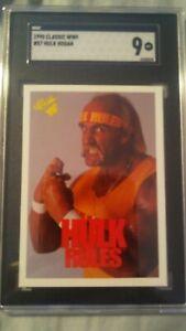 HULK SGC 9 1990 CLASSIC WWF WWE MINT #57