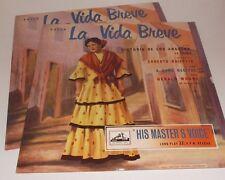 ALP 1150/51 Falla La Vida Breve & Song Recital De Los Angeles Moore  R/G 2LP Set