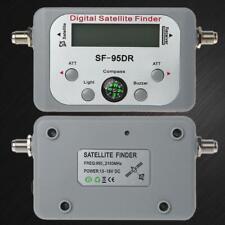 Digital Satellite Finder Meter TV Signal Finder Decoder Sat DVB-T2 LCD FTA Dish