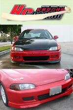 HC HONDA CIVIC 92-95 TYPE R FRONT LIP SPLITTER SPOILER EG COUPE + 3D HATCH Z0036