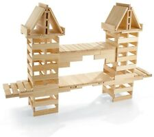NEW Wooden Plank Building Block Set -100% Maple-Made in USA -200 Piece set
