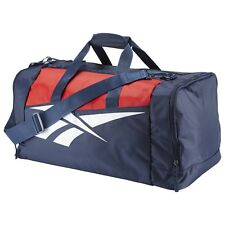 Reebok Classic Lost & Found Grip Duffle Bag - Blue Gym Athletic Training Gear